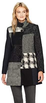 Desigual Women's Rosita Woman Woven Overcoat