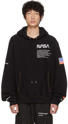 Heron Preston SSENSE Exclusive Black Fleece Hoodie