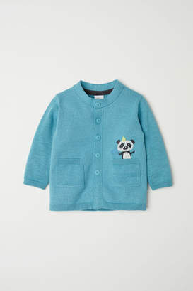 H&M Cardigan with Pockets - Turquoise