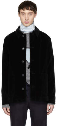 A.P.C. Black Velvet Fiddle Jacket