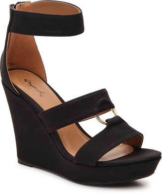 e068efe4d7d0 Qupid Black Open Toe Women s Sandals - ShopStyle