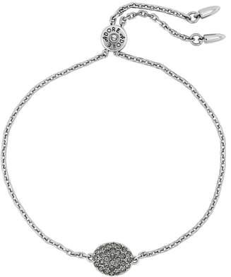 Adore Pave Crystal Oval Bracelet