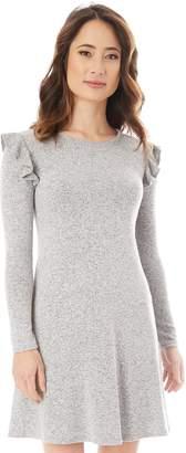 Iz Byer Juniors' Ruffled Sweaterdress