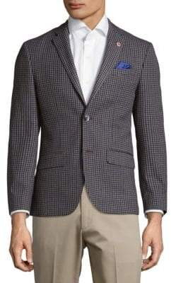 Ben Sherman Houndstooth Jacket