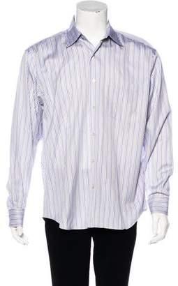 Robert Talbott Striped Button-Up Shirt