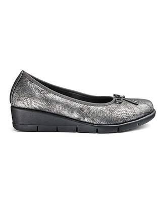 Cushion Walk Wedge Shoes E Fit