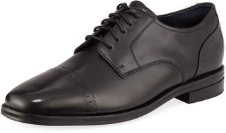 Cole Haan Men's Giraldo Grand 2.0 Cap-Toe Oxfords, Black