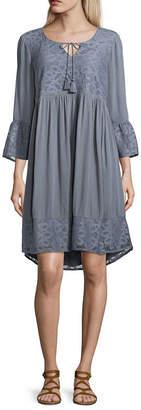 Artesia Lace Patchwork Dress