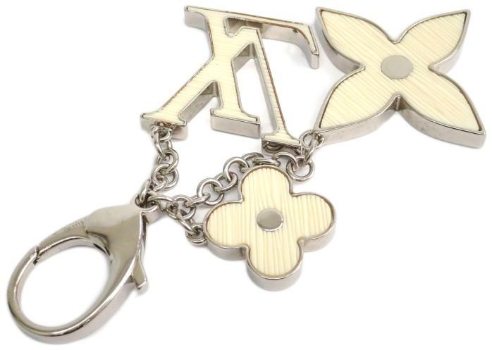 Louis VuittonLouis Vuitton Silver Tone Metal Key Holder Ring