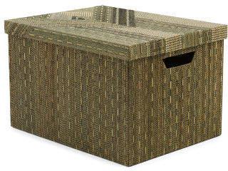 Made In Indonesia Aztec Storage Box