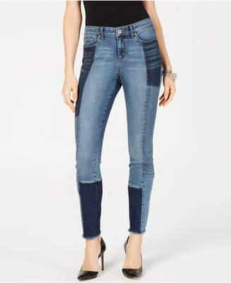 INC International Concepts I.n.c. Patchwork Skinny Jeans