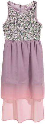 H&M Sequined Dress - Purple