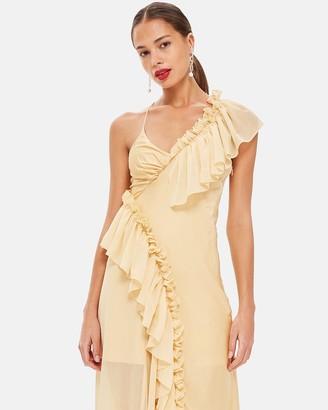 Topshop Solid Maxi Dress