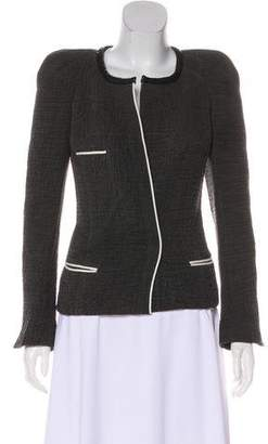 Isabel Marant Textured Long Sleeve Jacket