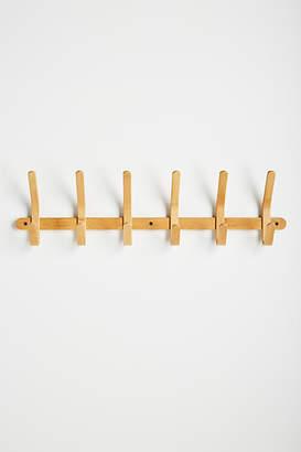 Anthropologie Bamboo Hook Rack