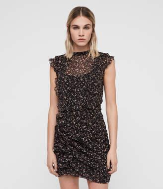 AllSaints Hali Pepper Dress