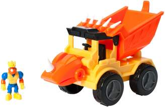 Educational Insights Dino Construction Company Dump Truck Toy