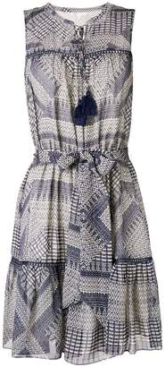 Rebecca Minkoff ethnic print flared dress