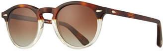 Peter Millar Men's Voyager Round Sunglasses - Polarized