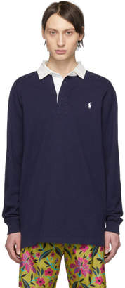Polo Ralph Lauren Navy The Iconic Rugby Polo