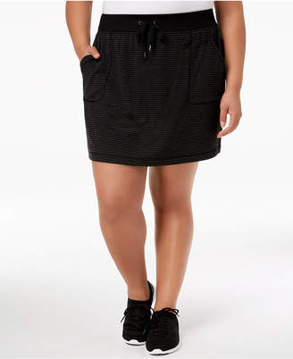 Ideology Plus Size Active Mini Skirt, Created for Macy's