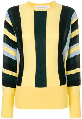 Victoria Beckham Victoria striped knit jumper