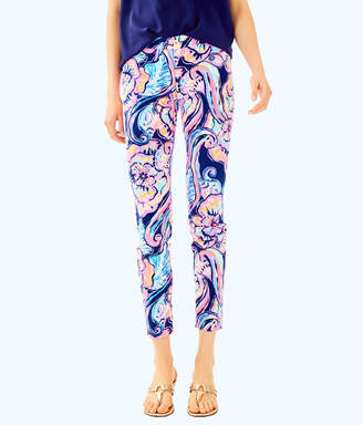 """Lilly Pulitzer Womens 29"""" Kelly Ankle Length Skinny Pant"""