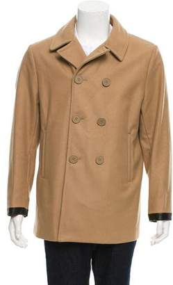 Marni Wool Cashmere Blend Double-Breasted Coat