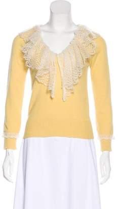 Louis Vuitton Cashmere Knit Sweatshirt