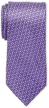 MICHAEL Michael Kors Silk Pindot Ground Diamond Print Tie
