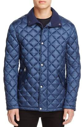 Cole Haan Diamond Quilted Snap Jacket