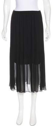 Magaschoni Pleated Midi Skirt