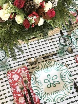 India Amory New - Evergreen Tablecloth