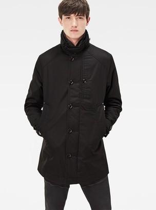 mens mens outerwear g star g star garber slim trench. Black Bedroom Furniture Sets. Home Design Ideas