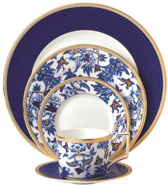 Wedgwood Hibiscus Bone China 5 Piece Place Setting, Service for 1
