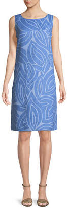 Lafayette 148 New York Farah Sleeveless Linen Dress
