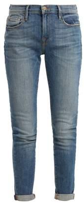 Frame - Le Garcon Mid Rise Jeans - Womens - Denim