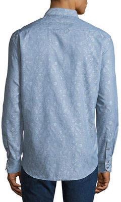Robert Graham Men's Garden Lake Classic-Fit Paisley Woven Shirt