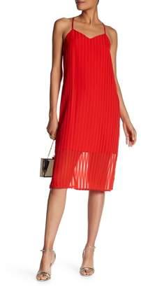 Cynthia Steffe CeCe by Lacey Striped Chiffon Dress