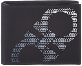Salvatore Ferragamo U.S. Leather Bifold Wallet