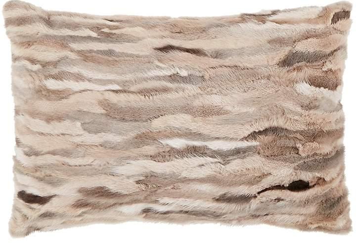 Rani Arabella Venezia Mink-Front Pillow