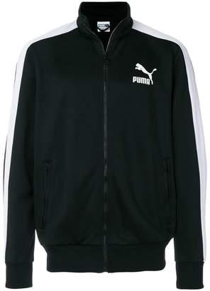 Puma embroidered logo jacket