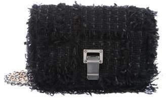 Proenza Schouler Courier Frayed Crossbody Bag Black Courier Frayed Crossbody Bag
