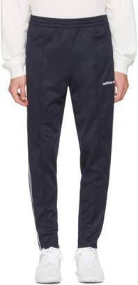 adidas Navy Open Hem Beckenbauer Track Pants