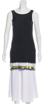Sass & Bide Silk Embellished Tunic