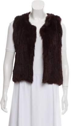 Open Front Fur Vest w/ Tags