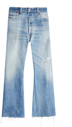 RE/DONE The Leandra Wide Leg Jeans