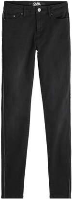 Karl Lagerfeld Zip Detail Skinny Jeans