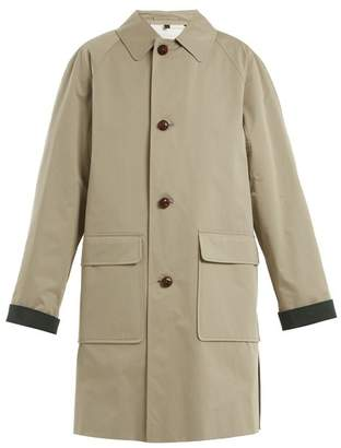 Burberry - Unisex Padded Cotton Trench Coat - Womens - Khaki