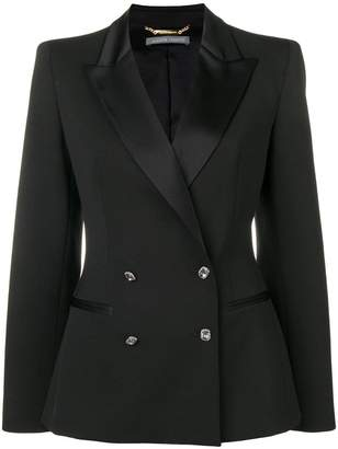 Alberta Ferretti fitted double breasted blazer